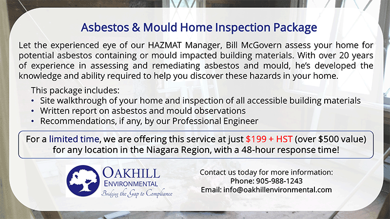 Oakhill Home Inspection Package